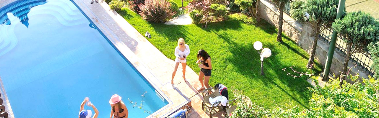 Concierge Belgrade | Private party in villa with indor pool