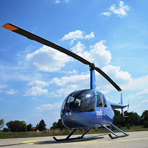 Concierge Belgrade | Panoramic flying with helicopter over belgrade