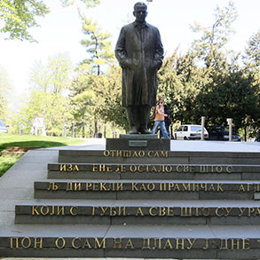 Concierge Belgrade | Monument to Ivo Andric