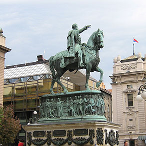 Concierge Belgrade | Monument to prince Mihailo Obrenovic