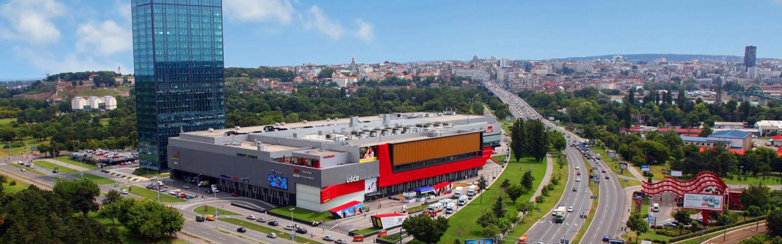 Concierge Belgrade | Usce shopping mall
