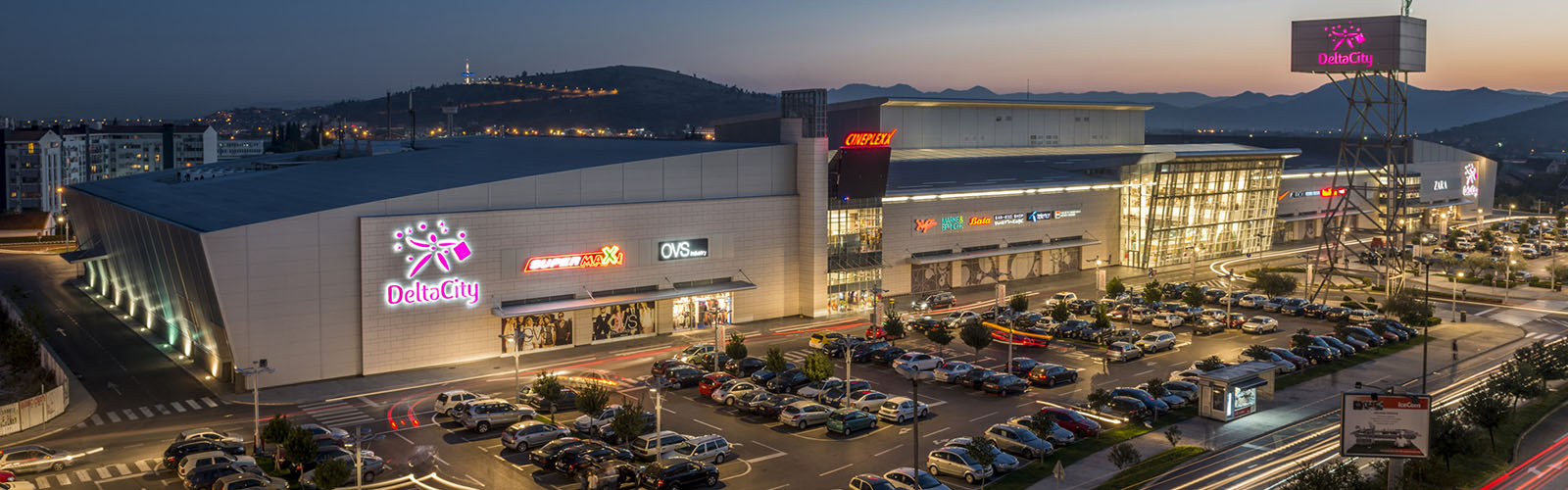 Concierge Belgrade | Delta City shopping mall
