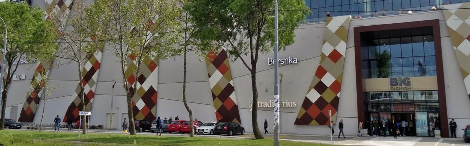 Concierge Belgrade | Big Fashion shopping mall