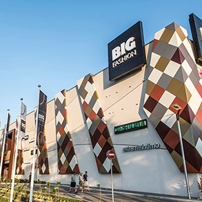 Concierge Belgrade | Big Fashion shopping mall